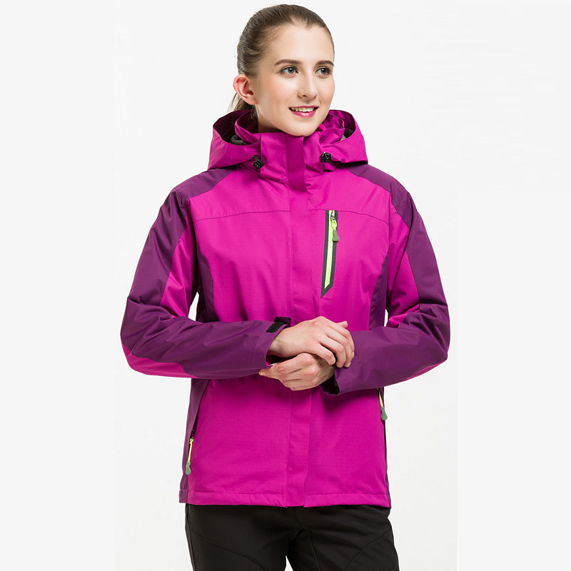 New Thick Warm Ski Jackets Women Waterproof Windproof  Breathable Skiing And Snowboarding Jacket Outdoor Camping Hiking Jackets