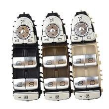 Interruptor de controle mestre do levantador da janela de energia 2229056800 para mercedes-benz c300 c400 c63 glc300 c350e c-class w205 w253 w222