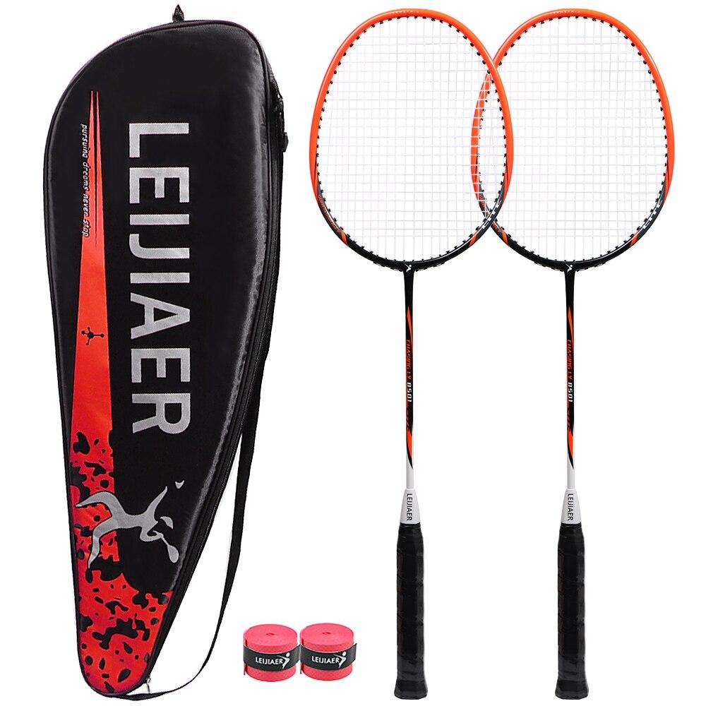 de carbono profissional raquete de badminton de