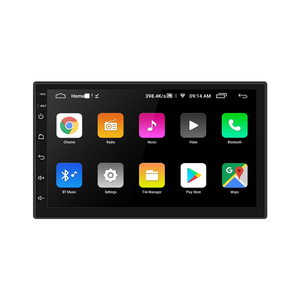 Image 2 - 2din Car Radio Android 8 Universal GPS Navigation Bluetooth 2.5D Touch Split Screen Wifi Car Audio Stereo FM USB Car Multimedia