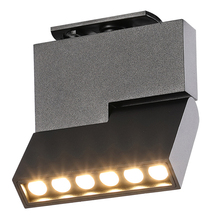 LED COB spotlights Nordic light Square Track strip spotlight creative line collapsible livingroom