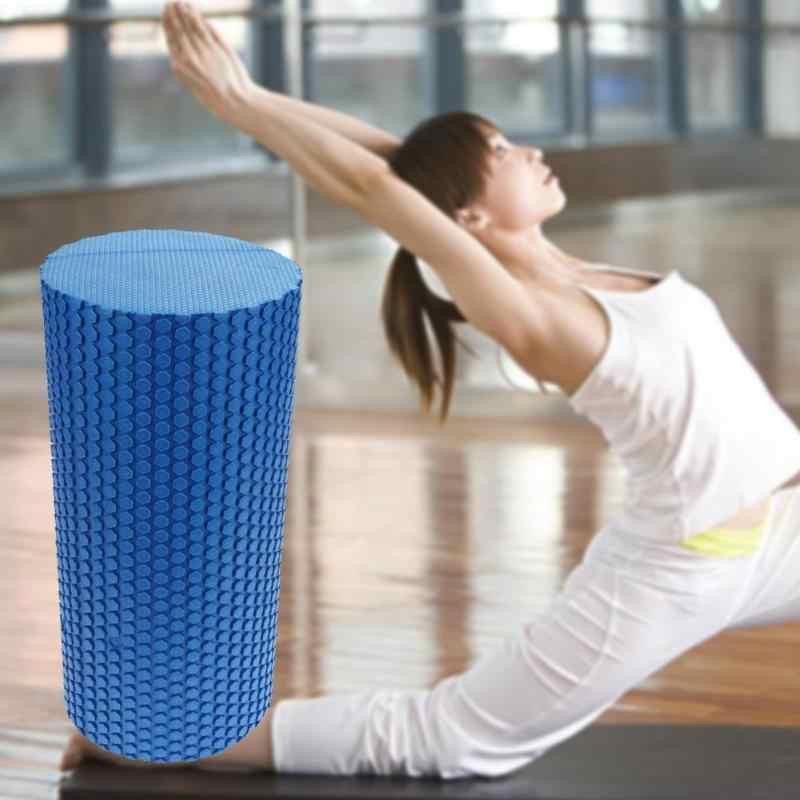 30cm Yoga Köpük Masaj Silindiri Spor Salonu Egzersiz Bloğu Spor EVA Yüzen Tetik Noktası Fitness ekipmanları Terapi Terapi