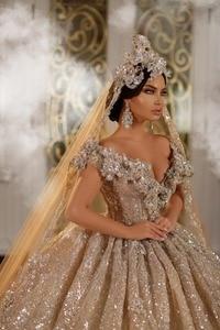 Image 4 - Eslieb robe de mariée brillante sur mesure, robe de mariage, 2020