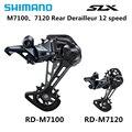 SHIMANO DEORE SLX RD M7100 M7120 12S SGS descarriladores traseros bicicleta de montaña M7100 M7120 jaula larga MTB descarriladores 12 -velocidad