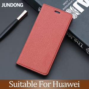 Флип-чехол для телефона Huawei P10 P20 P30 Mate 9 10 20 pro lite чехол Y6 Y9 P smart 2019 PU ткань текстура для Honor 8X 7 9X 10 lite