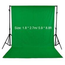 1,8*2,7 м/5,9* 8.8фт зеленый экран для фотостудии видео нетканый белый черный зеленый фон для фотосъемки