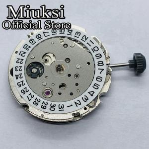Miyota 821A 21 klejnotów automatyczny mechaniczny ruch daty męskie ruchy zegarków