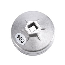 74mm 14 Flute Aluminum Oil Filter Wrench Socket Remover Tool For BMW For AUDI For Benz Oil Filter Wrench Auto Tool