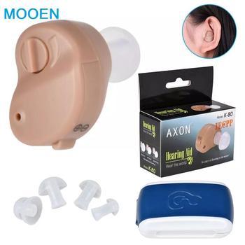 2020 najlepsze tanie aparaty słuchowe ucho do głuchota wzmacniacz dźwięku regulowane aparaty słuchowe Super Ear wzmacniacz słuchu dla osób w podeszłym wieku tanie i dobre opinie MAGIC DRAGON Invisible hearing aids ear Sound Amplifier mini hearing aids cic hearing aid hearing device Ear Hearing Amplifier