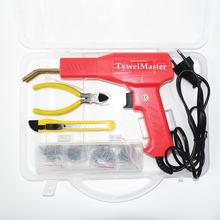 핸디 플라스틱 용접기 차고 도구 핫 스테이플러 기계 스테이플 PVC 플라스틱 수리 기계 자동차 범퍼 수리 핫 스테이플러