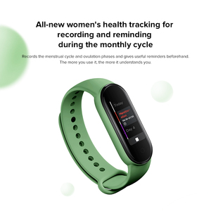 Image 2 - Original Xiaomi Mi Band 5 Global Version 9 Languages Smart Miband  Screen Bracelet Heart Rate Fitness Sport  Bluetooth Wristband