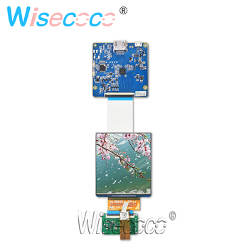 3.81 inch 1080x1200 AMOLED oled screen 3D VR display HDMI MIPI driver controller board high brighness 90hz