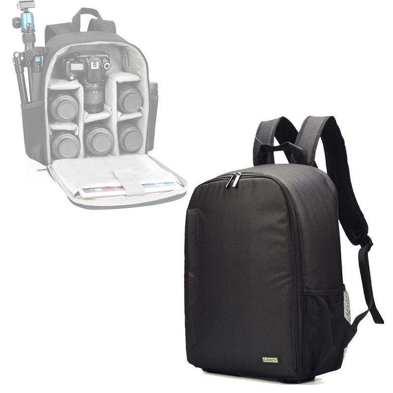 multifunctional intelligent partition capacity design Camera Backpack outdoor shoulder bag Digital SLR camera bag