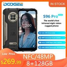 DOOGEE S96 Pro Новый Прочный телефон 48 МП круглая камера 20 МП инфракрасное ночное видение Helio G90 Восьмиядерный 8 + 128 ГБ 6350 мАч