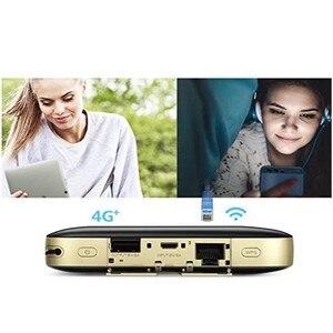 Image 3 - Huawei社E5885Ls 93a Cat6 携帯wifi PRO2 300 150mbpsの 4 4g lteモバイルwifiホットスポットとe5885 6400 2600mahのパワーバンクバッテリールータモデム