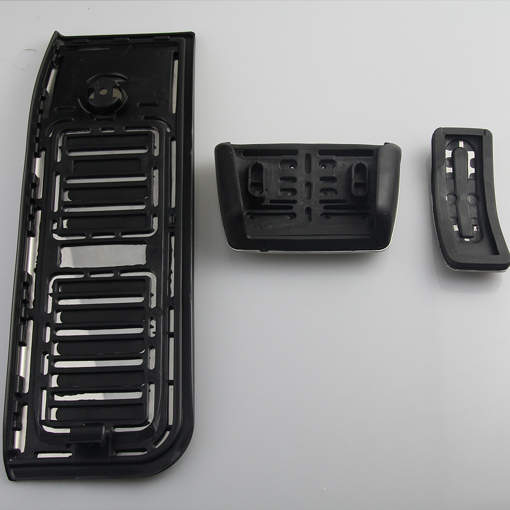 Набор педалей для Audi A6 C8 2019-2020 из нержавеющей стали топливный автомобиль педаль тормоза акселератора тормозные резиновые колодки-4