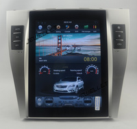 10.4 tesla style vertical screen Six core android 9.0 Car GPS radio Navigation for Toyota Camry Aurion Daihatsu Altis 2007 2011