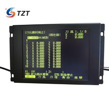 TZT Replacement LCD Panel for Mitsubishi MDT962B 1A BM09DF MDT962B M64 E60 CNC CRT Monitor + Upgrading Button
