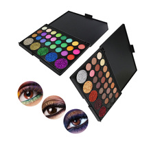 2019 Hot 54 Color Eyeshadow Palette Matte Glitter EyeShadow Diamond Shimmer Eye Primer Luminous Eye Shadow Women тени для век