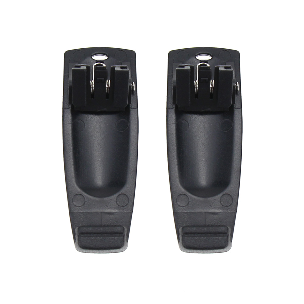 2Pcs Walkie Talkie Belt Clip For Kenwood TH-K20 TH-K20A TH-K20E TH-K40A TH-K40E TK-2000E TK-2000K TK-2000M TK-2000T2