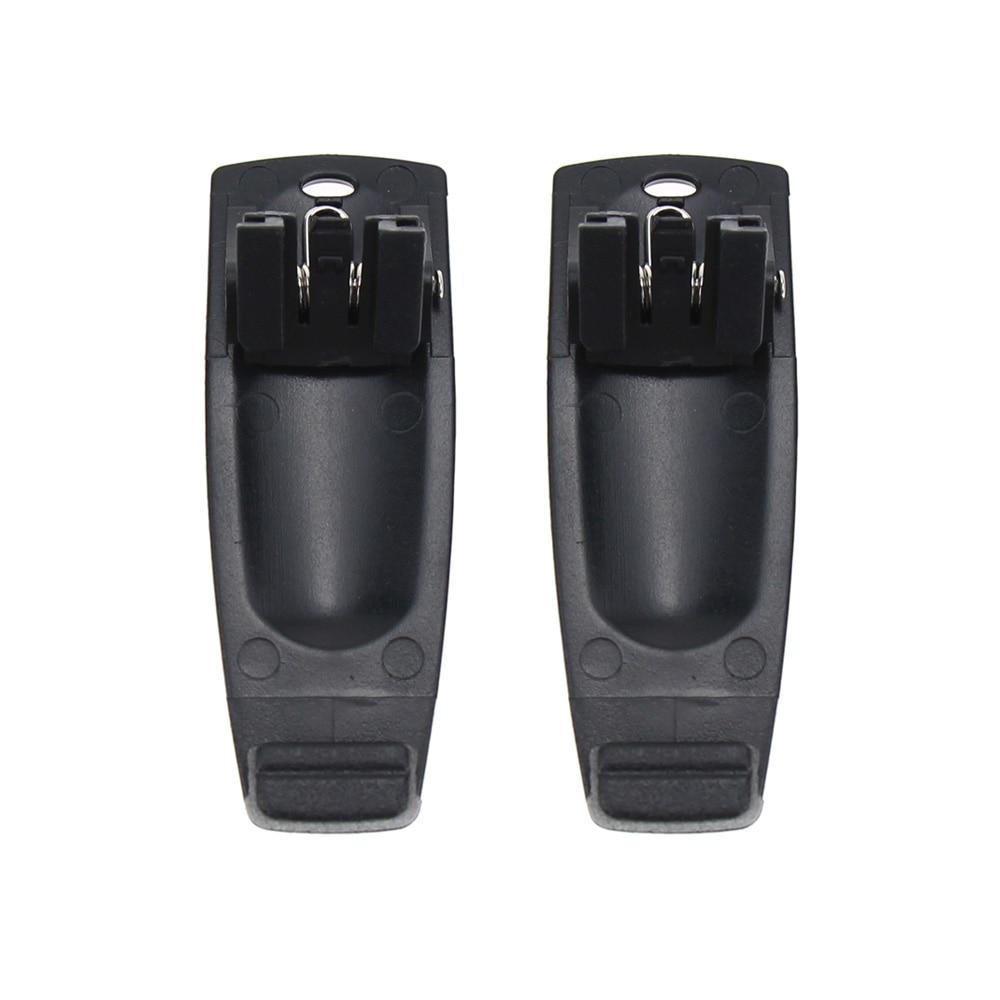 2Pcs Walkie Talkie Belt Clip For Kenwood TH-K20 TH-K20A TH-K20E TH-K40A TH-K40E TK-2000E TK-2000K TK-2000M TK-2000T2