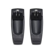 2Pcs Walkie Talkie Belt Clip for Kenwood TH-K20 TH-K20A TH-K20E TH-K40A TH-K40E TK-2000E TK-2000K TK-2000M TK-2000T2 hatsan 125 th