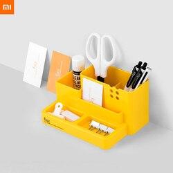 Xiaomi fizz wielofunkcyjny pojemnik na długopisy organizer na biurko ABS obsadka do pióra biurowe pojemnik Box biuro szkolne 2