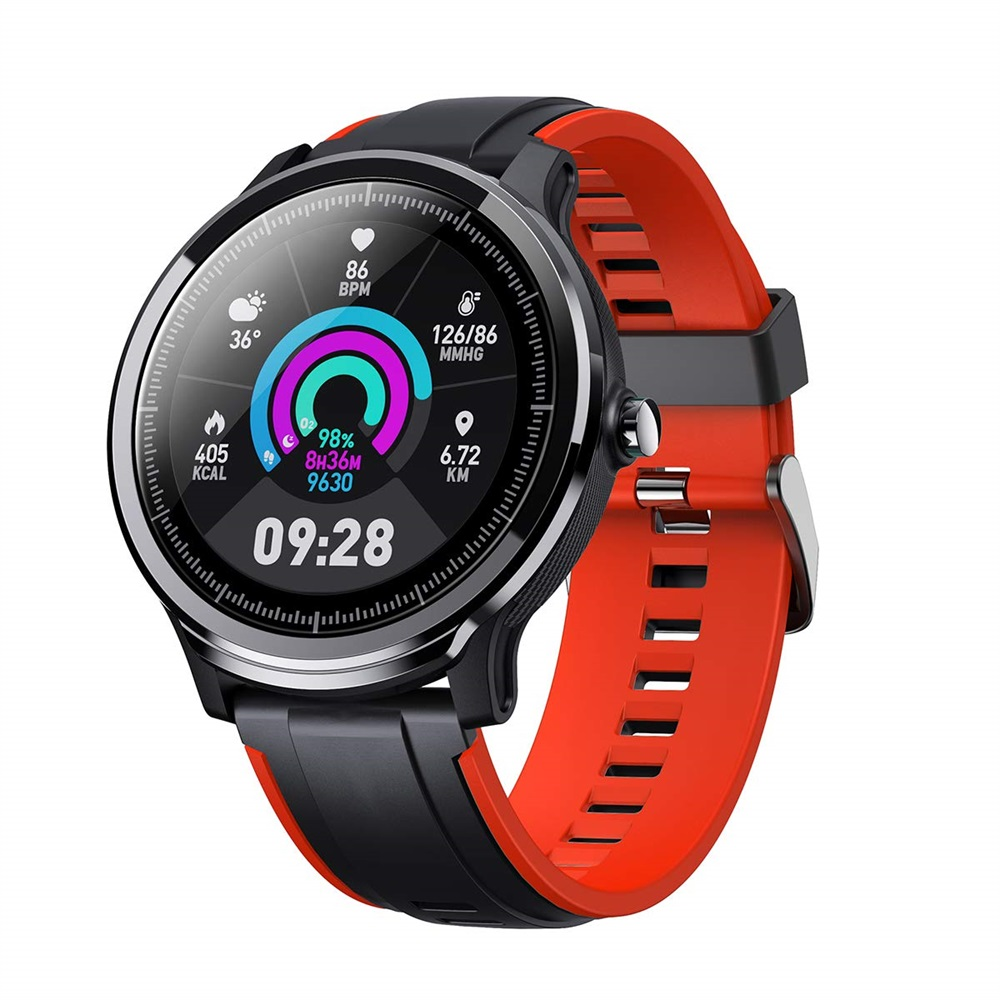 IP68 Smart Watch waterproof Screen Heart Rate Monitor Blood 