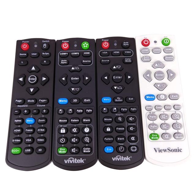 NEW Original for Vivitek ViewSonic Projectors Remote Control RCP01051 PJD6552LWS PJD6552W XY 7080