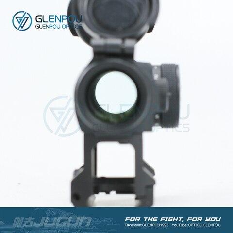 balsaming lente rifescope vista iluminado sniper red