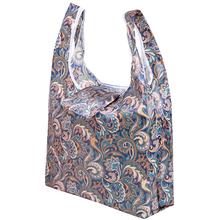Bezpiecznie ze duża wyprzedaż tylko jeden zakupy torba z kolor eko torba Tote na zakupy wielokrotnego użytku rysunek przedstawiający kwiatek owoce warzywa sklep spożywczy tanie tanio OLOEY Polyester WOMEN Solid Torby na zakupy Nie zamek 17inch Lady