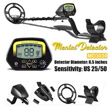 MD3030 Professional Underground Metal Detector Pinpointer Gold Detectors LCD Display Sound Mode Treasure Hunter Tracker Finder