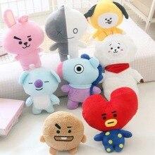 Pillow Celebrity Image Animal Rabbit Kpop Plush-Toy Stuffed-Doll Cartoon for Girls Gifts