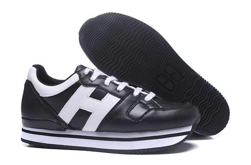 Hogan 2020 plate-forme baskets femmes en cuir véritable chaussures de créateur femmes marque de luxe Air maille Sneaker femmes chaussures décontractées