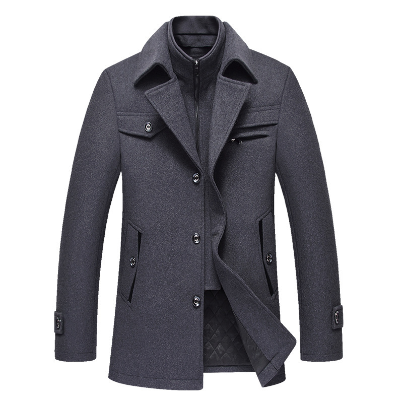 Woolen Coat for Men, High-quality Wool Coat, Cashmere Jacket for Men, High-quality Cashmere Coat, Wool Coat for Men