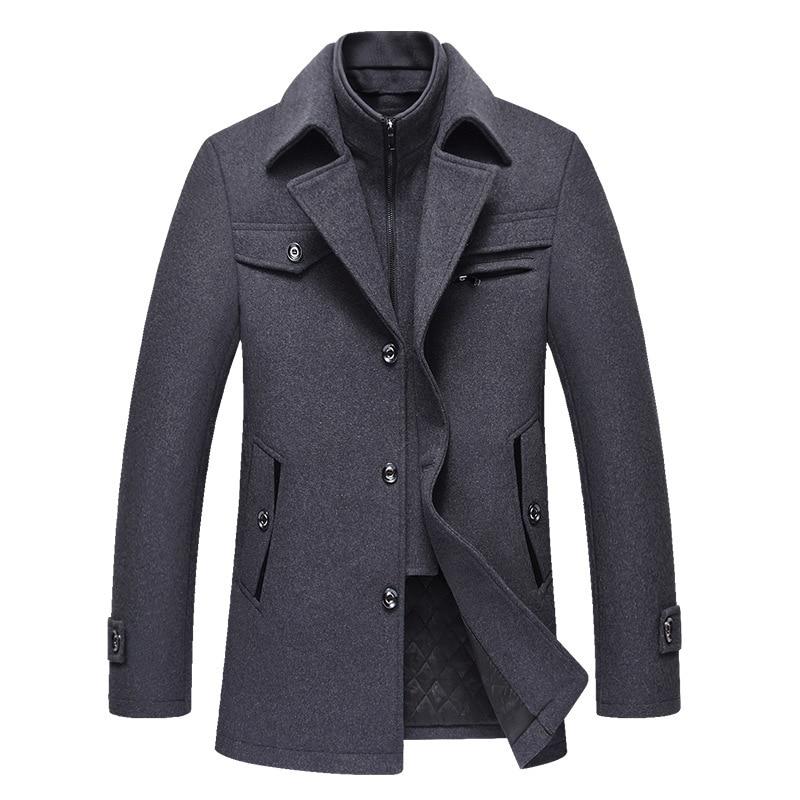 Woolen Coat for Men, High-quality Wool Coat, Cashmere Jacket for Men, High-quality Cashmere Coat, Wool Coat for Men