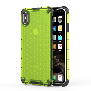 Image 1 - Honeycomb Rugged Hybrid Armor Case For iPhone 11 Pro XS Max XR XS X 8 7 6s 6 Plus Cover Transparent Shell  Accessories (XS0514)