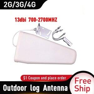 Image 2 - Antena periódica de registro externo, antena reforço de sinal de antena 2g 3g 4g 13dbi 700 2700mhz antena externa 4g repetidor de sinal