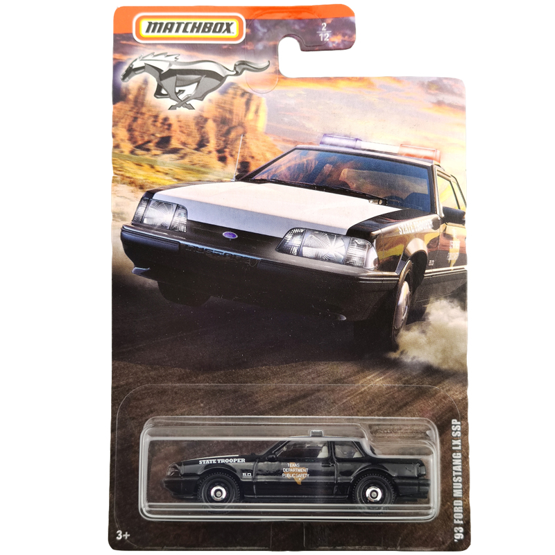 2020 Matchbox 1/64 Car 93 FORD MUSTANG LX SSP  Collective Edition Metal Diecast Car Alloy Model Car Kids Toys Gift