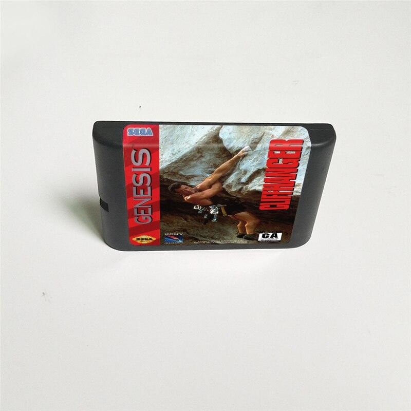 Cliffhanger - 16 Bit MD Game Card For Sega Megadrive Genesis Video Game Console Cartridge