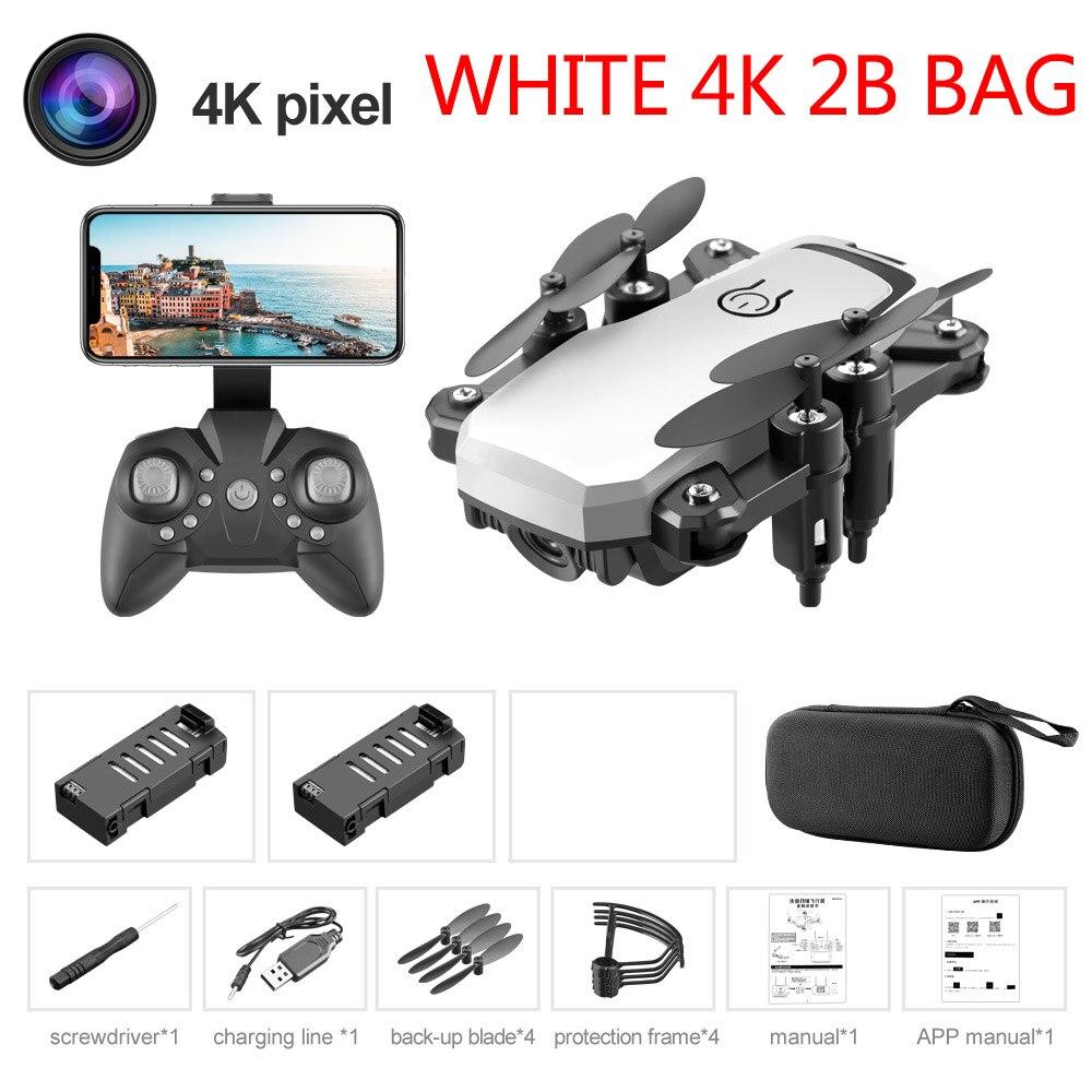 White 4K 2B Bag