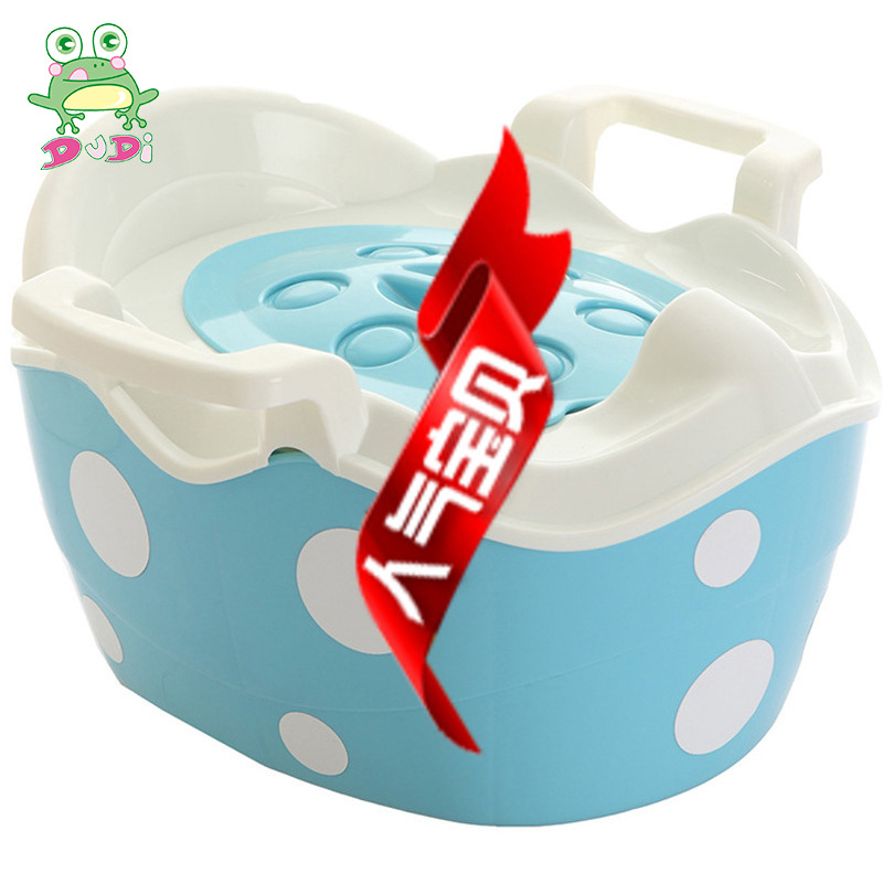 Happiness Dotted Toilet CHILDREN'S Toilet Hot Selling New Style Men And Women Baby Toilet Infant Potty
