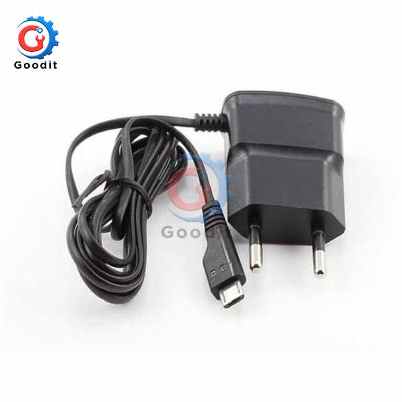 Enchufe europeo de carga rápida de 5V, adaptador de carga Micro USB para teléfonos móviles Huawei, Xiaomi, LG, SONY y Samsung, adaptador de carga Universal
