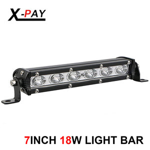 18W 7inch Single Row Spot LED