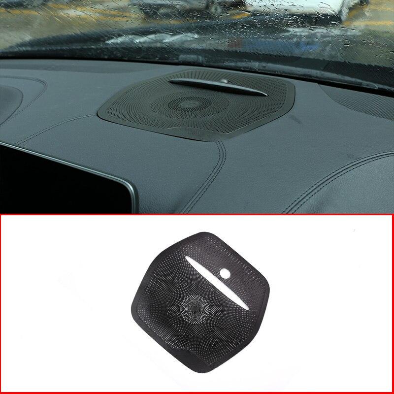Pour Mercedes Benz GLE ML W166 GL X166 GLS voiture en alliage d'aluminium haut-parleur déco voiture Audio autocollant voiture stéréo couverture Auto garniture