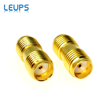100PCS Sma buchse auf Sma buchse in Serie RF Coaxial Connector Adapter