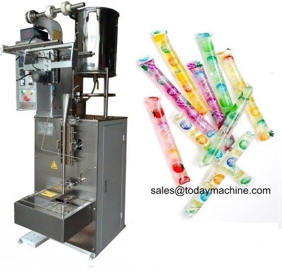 Relé gelo pop suco de frutas plástico macio tubo saco máquina de embalagem