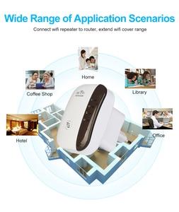 Image 2 - واي فاي مكرر موسع واي فاي 300Mbps مكبر للصوت معزز Wi Fi واي فاي إشارة 802.11N طويلة المدى اللاسلكية واي فاي مكرر نقطة الوصول