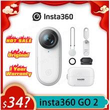 Insta360 GO GO 2 – caméra d'action vidéo 1080P, édition automatique, intelligence artificielle, appareil stabilisé, contrôle de flux, Vlog Pk Gopro DJI Osmo ONE X