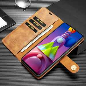 Image 4 - 2 in 1 Case For Samsung Galaxy M51 Case S21 Plus Ultra Cover Flip Leather Coque For Samaung M31 M31S Cases Fundas Wallet Pocket